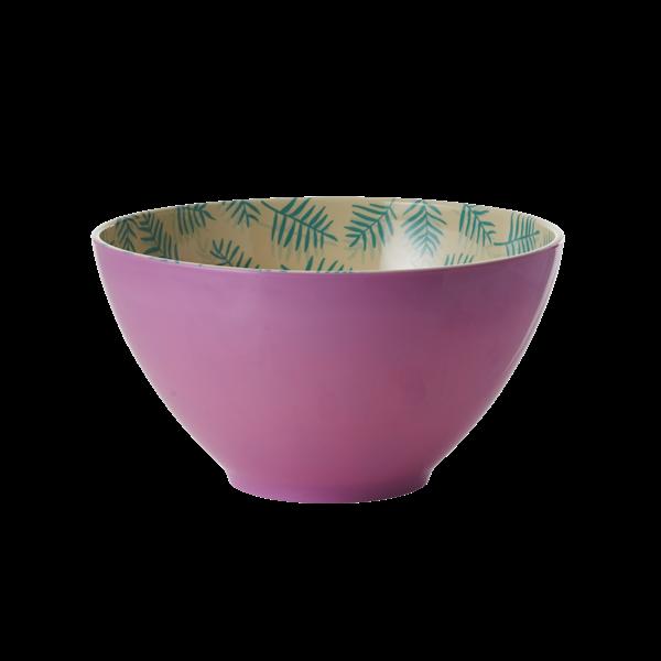 RICE stor skål lila