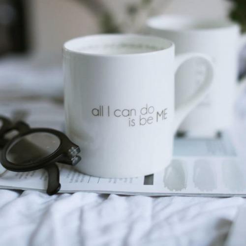 I LOVE DESIGN mugg ...to be ME