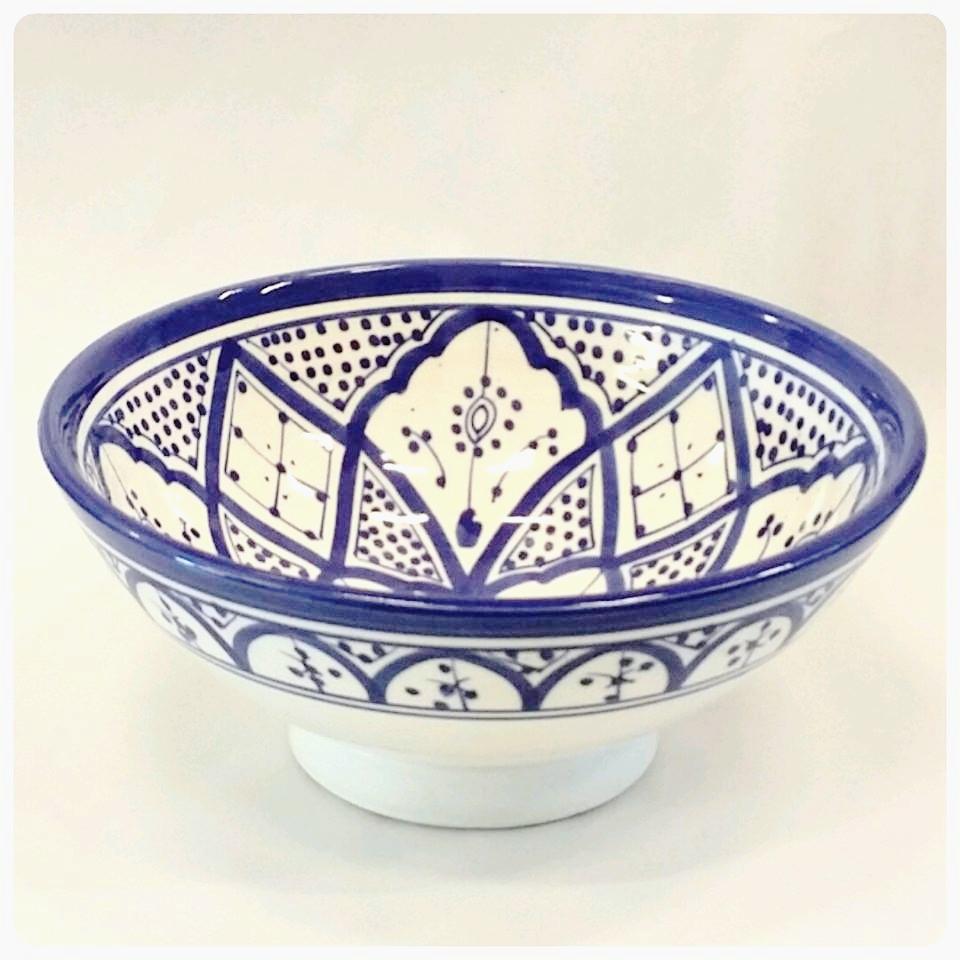 RIF DESIGN skål 25 blått