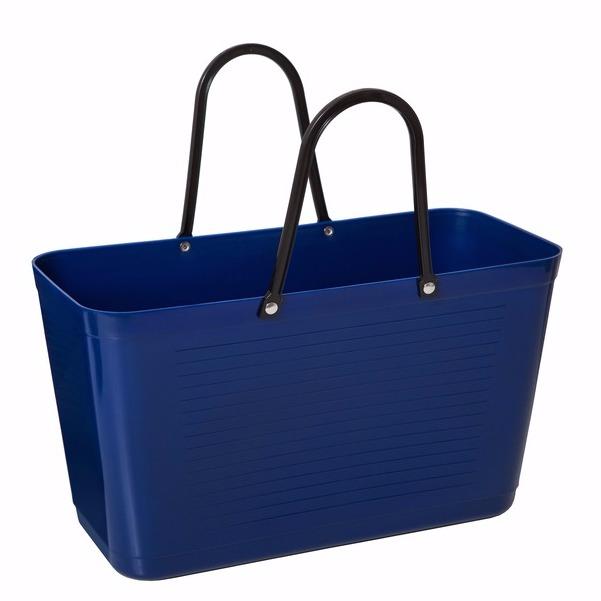 Väska stor blå HINZA