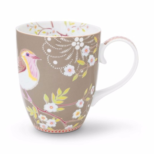 Mugg Early Bird beige-PIP STUDIO