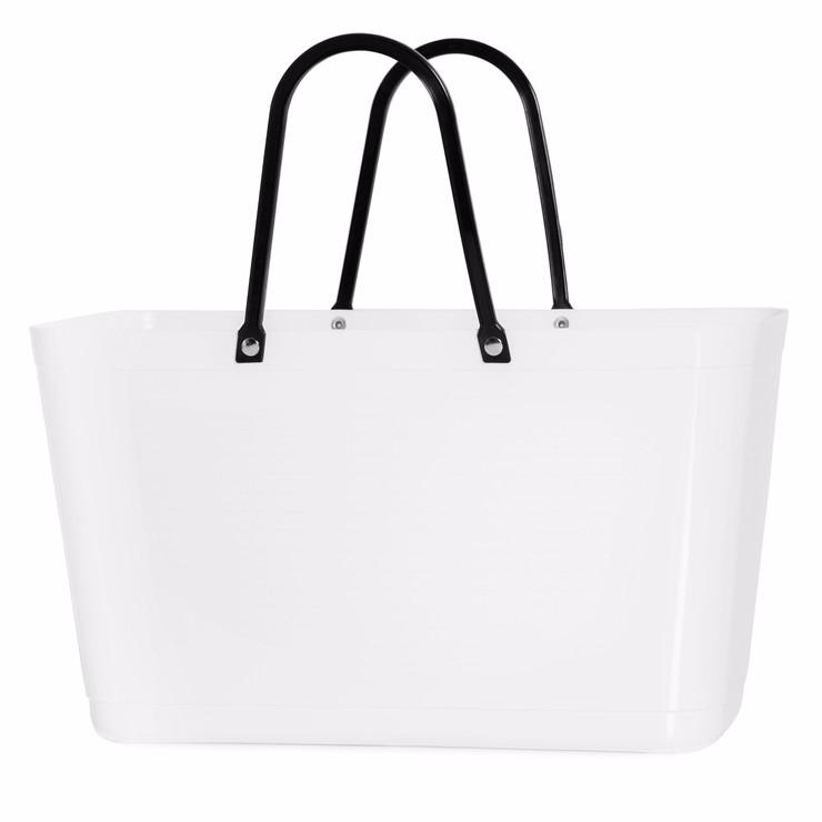 Väska stor vit HINZA