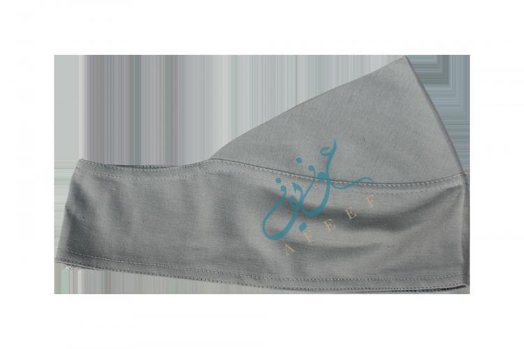 Hijabkeps - Ljusgrå L