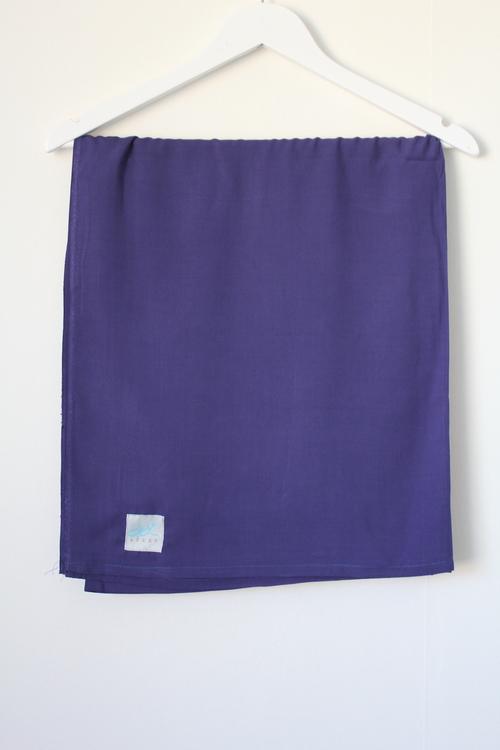 XL-hijab i bomullslinne - mörkblå