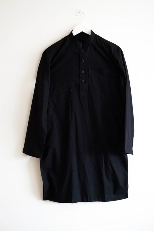 The Traditional Pakistani Qameez including trousers - Black
