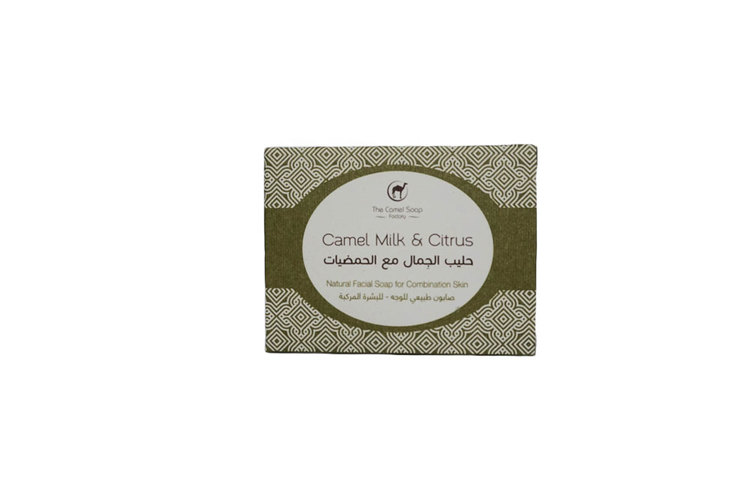 Natural Camel Milk Face Soap for Combination Skin – Citrus