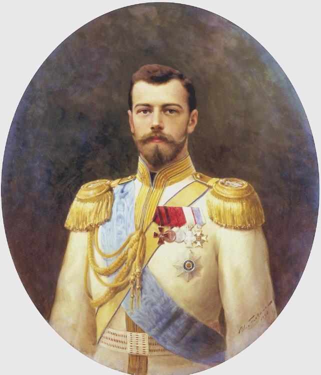 NICHOLAS II 1898- NIKOLAJ II 1898 by/av Ilya Galkin
