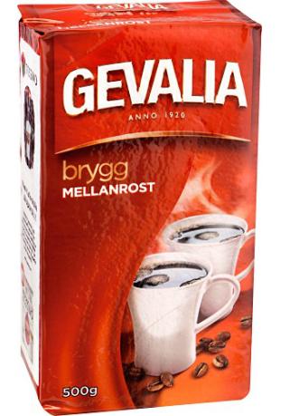 Gevalia Brygg Mellanrost 500 gram