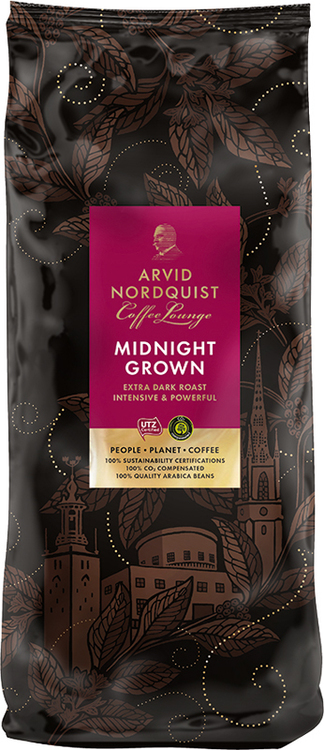 KAFFE MIDNIGHT GROWN HELA ESSPRESSO BÖNOR