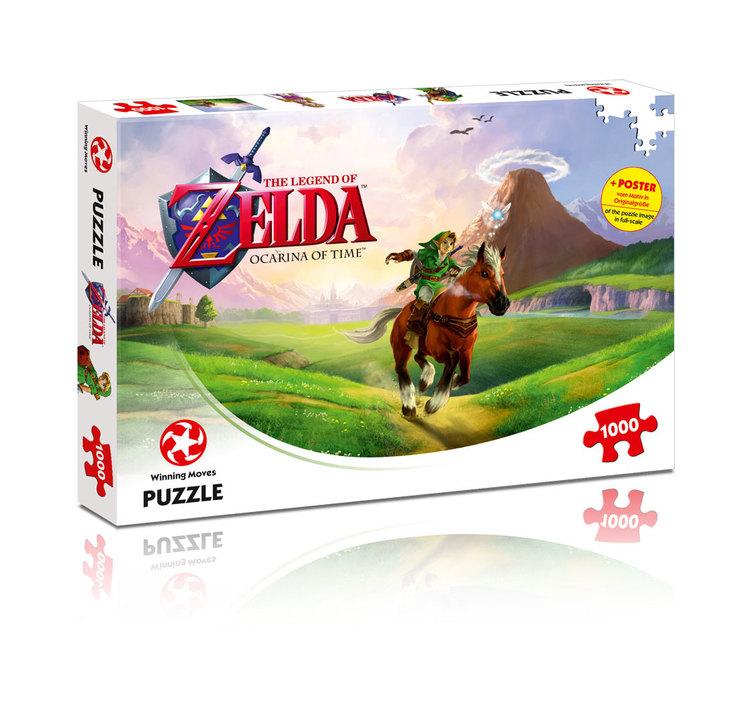 Legend of Zelda Ocarina of time pussel & poster