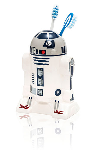 Star Wars tandborstmugg R2-D2