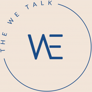The We Talk logo