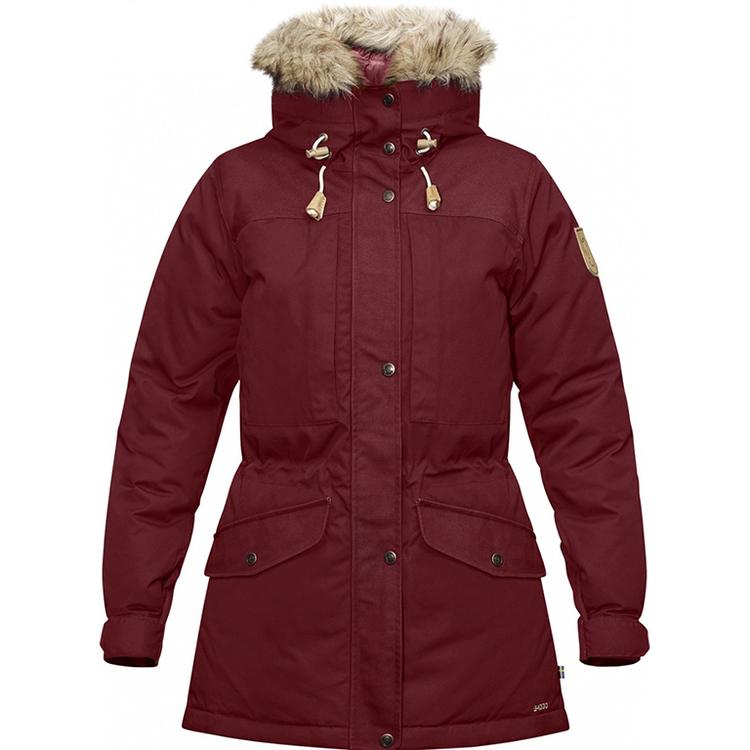 Fjällräven Friluftsjacka Singi Winter Jacket W Red Oak