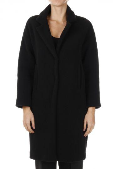 Mohair Blend Long Coat