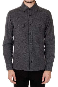 Wool Shirt with Breast-pockets