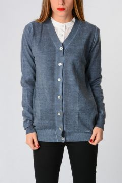 120% CASHMERE Cardigan in Cashmere
