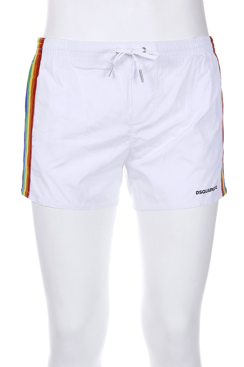 Rainbow Band Swim Shorts