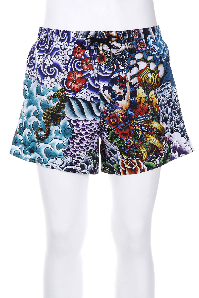 Tattoo Pattern Swim Shorts
