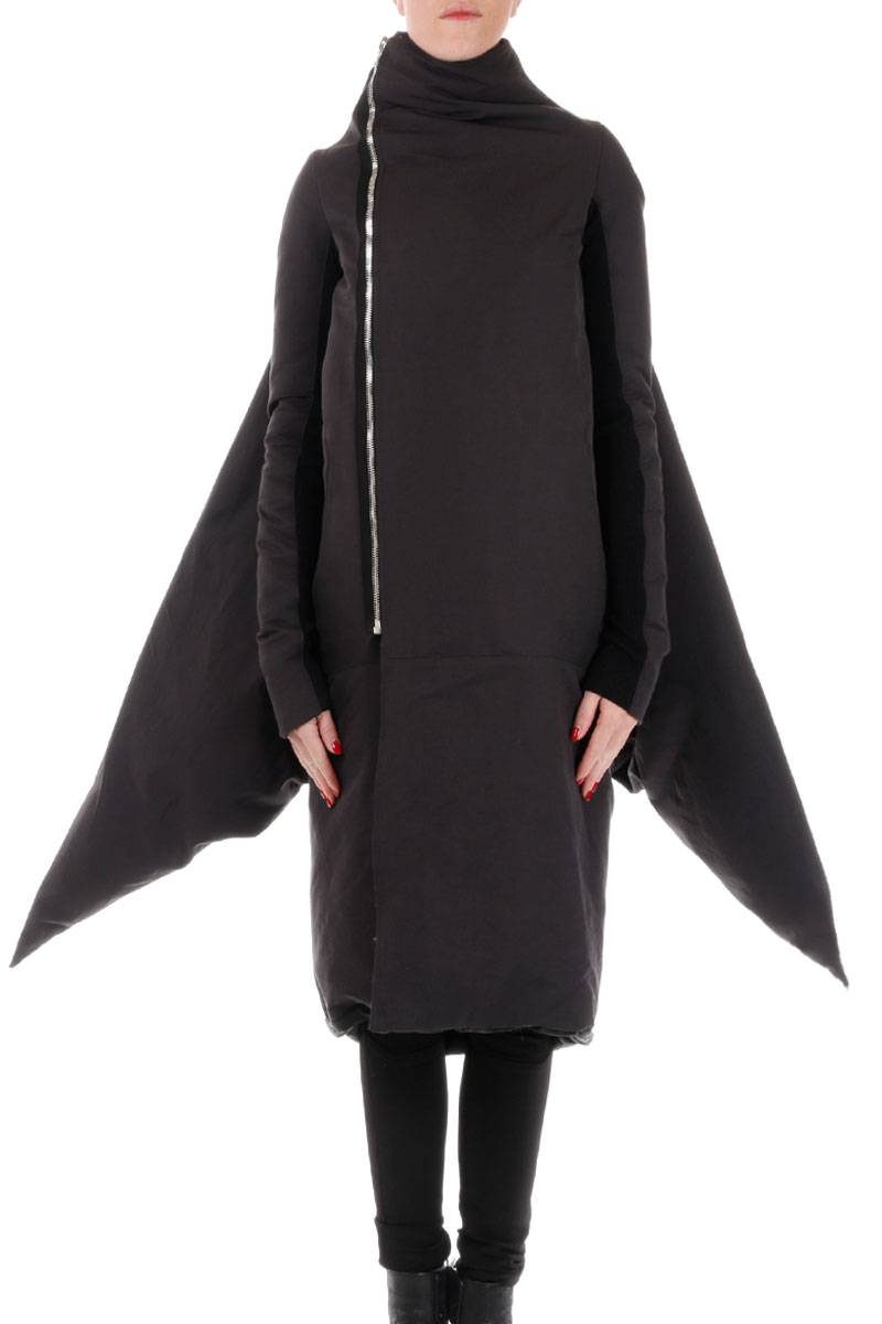 Zipped Wool Coat