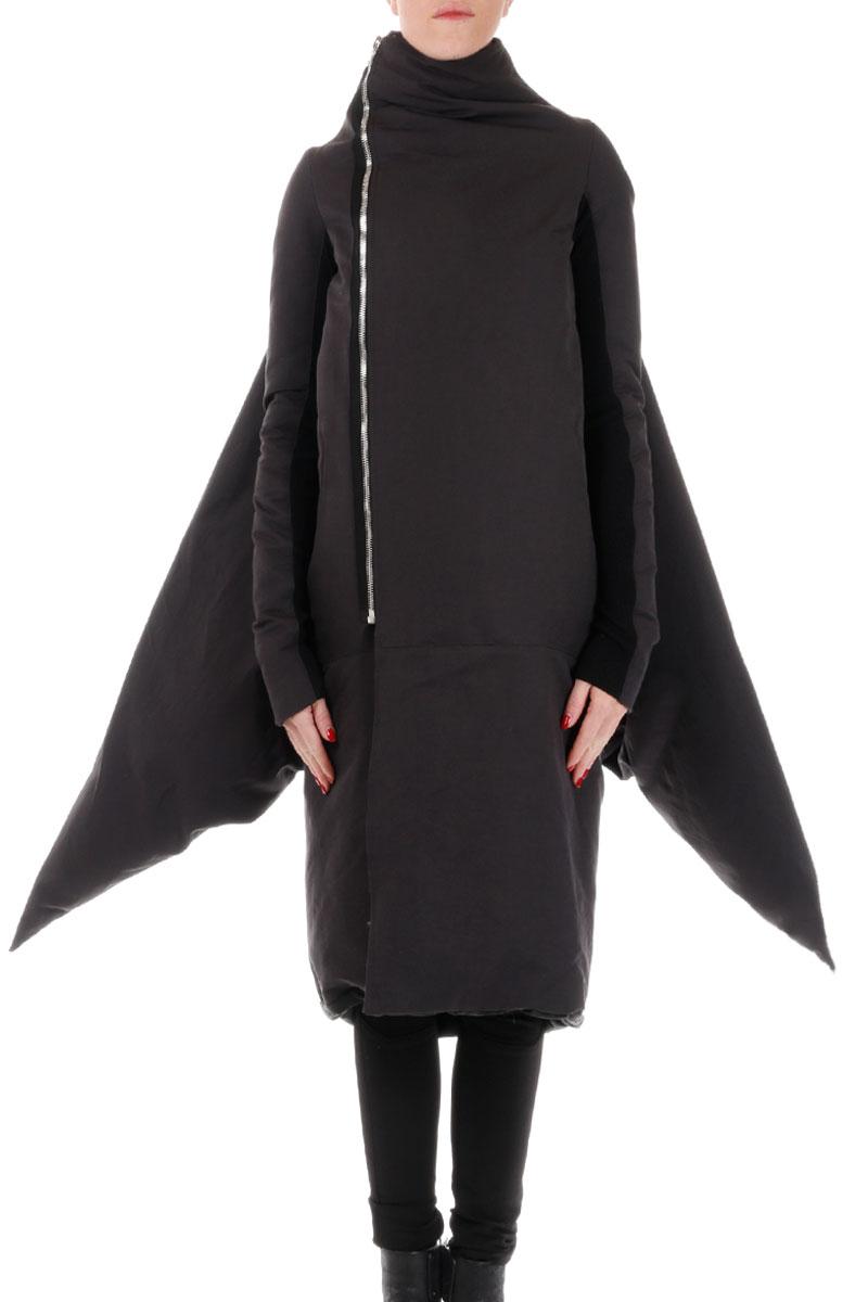 Cappotto in Lana con Zip