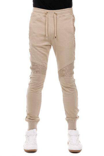 Pantalone BIKER LACETS in Cotone