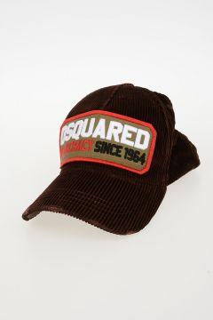 Embroidered Corduroy Baseball Hat