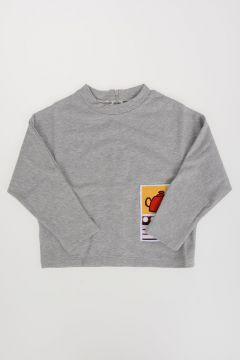 Sweatshirt Ricamata