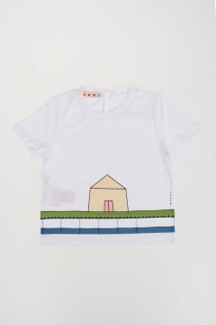 T-shirt Stampa Casetta
