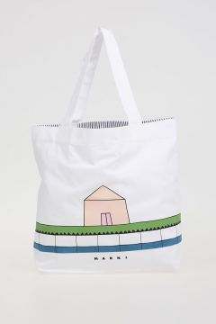 Cotton Printed House Bag