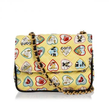 Quilted Printed Mini bag