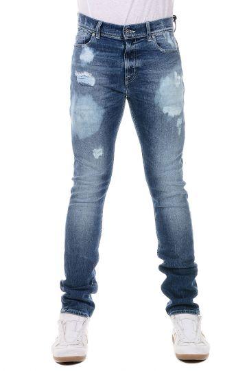 Jeans RONNIE in Misto Cotone 16 cm