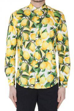 Camicia con Stampa Limoni