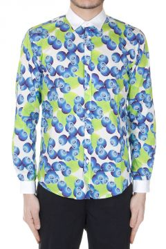 Blueberries Patterned Shirt