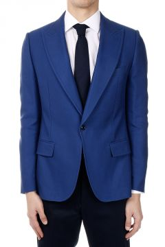 Blazer in Cotton and Silk