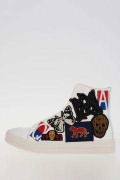 Sneakers in Canvas con Patch