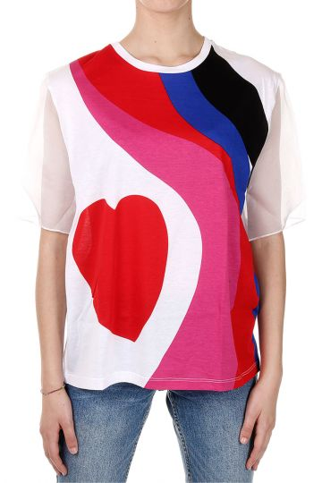 Multicolor Printed T-Shirt