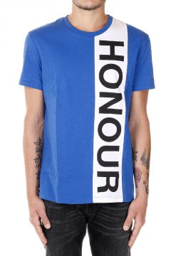 T-Shirt in Jersey Con Stampa HONOUR