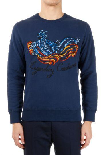 Embroided Cotton Sweatshirt