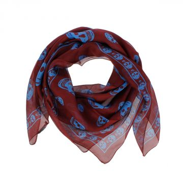 Silk Chiffon Scarf 104x120cm