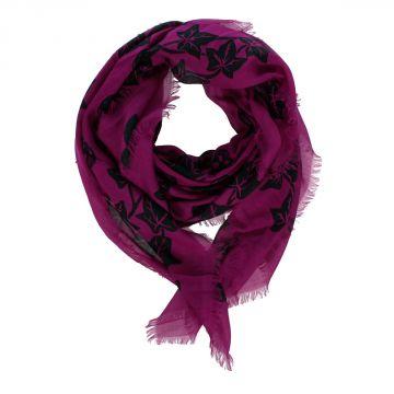 Silk blend Scarf 104x120cm