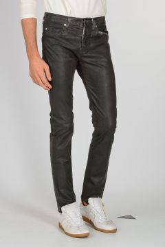 Jeans In Denim stretch Spalmato 16cm