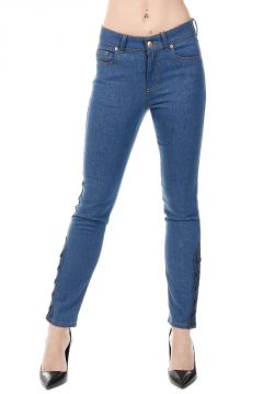 Stretch Denim Jeans 15 cm