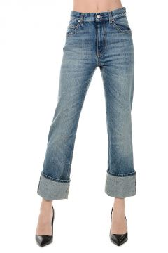 Jeans Capri in Denim 19 cm