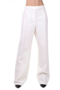 Silk Virgin Wool Pants