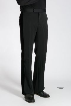 Side Bands Wool Pants