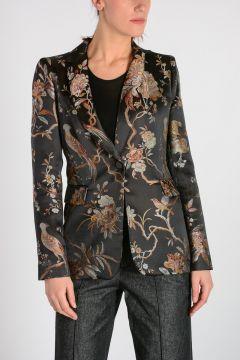 Floral Printed Blazer