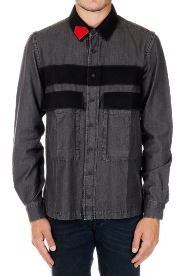 Camicia TULIO in dark Denim