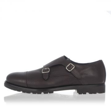 Leather Buckles Loafer