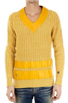 V-Neck Knitted Cachemere Sweater