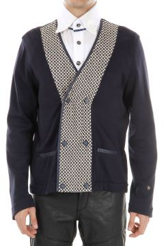 No Reverse Cotton and Cashemere Blazer